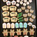 菊地先生のアイシングクッキー
